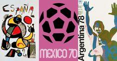 En lo más fffres.co: Los carteles de la Copa Mundial de Fútbol de 1930 a 2018: Con motivo de la presentación del póster de la Copa Mundial…
