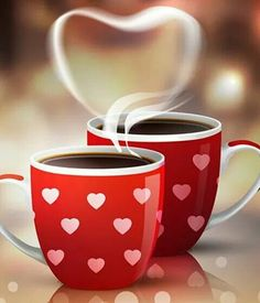 Find Coffee Cups Valentines Holiday Blurred Restaurant stock images in HD and millions of other royalty-free stock photos, illustrations and vectors in the Shutterstock collection. Coffee Heart, I Love Coffee, My Coffee, Coffee Mugs, Coffee Lovers, Café Latte, Latte Art, Good Morning Coffee, Coffee Break