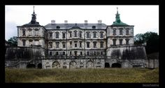 """Podgoretsky Castle is a well-preserved Renaissance palace surrounded by fortifications. The castle is located in the east of Lviv oblast in Podgortsy village. Together with Olesky and Zolochevsky castles it forms the """"Golden Horseshoe of Ukraine"""" (tourist route of Lviv region castles)."""