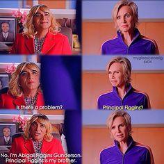 "#Glee 6x04 ""The Hurt Locker, Part One"" - Principal Figgins and Sue"