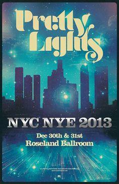 Pretty Lights NYE in NYC