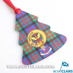 Carnegie Clan Crest Christmas Ornament