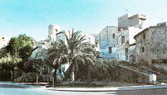 Castillo desde la ermita de San Antón. Años 80.