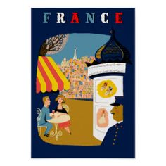 Vintage French Posters, Vintage French Prints, Art Prints, Poster Designs