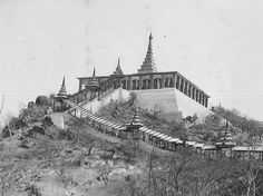 ``.....ခ်ား အာရကာဝီ ကုမၸဏီတိုက္ၾကီးကို သြား၊ ...ရေသ့ၾကီး ဦးခႏၱီက လႊတ္လိုက္တာလို႔ ေျပာ၊ ....သြပ္၊ ဒိုင္း၊ ျမွား......ရသေလာက္ ယူလာခဲ့.....ၾကားလား။ ။(၁၉၂၀)`` ......Mandalay Hills; Burma(1920) (File Photo)
