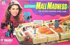 Mall Madness- I could never get the game to truly work but it's still nostalgia in the best way! Childhood Games, 90s Childhood, My Childhood Memories, Board Games For Girls, 90s Girl, Back In The 90s, 90s Party, Party Time, All I Ever Wanted