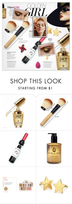 """""""Golden Makeup - Newchic"""" by yoa316 ❤ liked on Polyvore featuring beauty, Murphy, Carnill & Company, BHCosmetics, Pernille Corydon, Martha Stewart and Pat McGrath"""