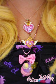 Original Super Sailor Moon and Sailor Chibi Moon by AliceIvyArt, $10.00
