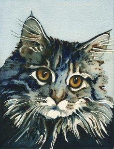 "Lori Alexander | ""Elfie"" - watercolor"