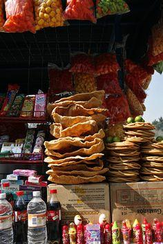 Street vendors, Chapultepec Park, Mexico D.F.