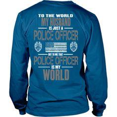 Husband Police Officer (backside design only)