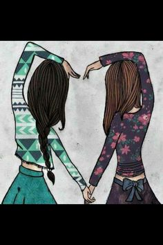 its like me and my best friend menna