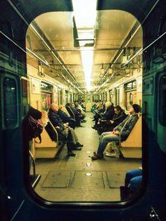 """metro 3"", underground, Budapest, Hungary Metropolitan Line, Underground Bunker, Stockholm, Transportation, Street View, Train, Budapest Hungary, Black And White, Photographs"