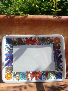 Retro 60s Villeroy and Boch Acapulco butter dish by fcollectables, €25.00