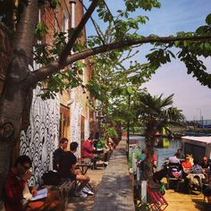 Canalside Counter cafe, Hackney Wick, London