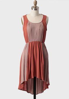 Pleated Dream High-low Dress | Modern Vintage Dresses