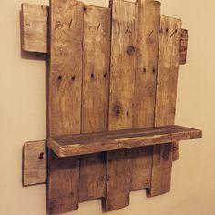 Shelf made of pallets