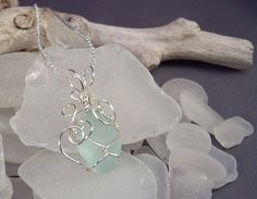 How to Wire-Wrap Beach Glass the Easy Way