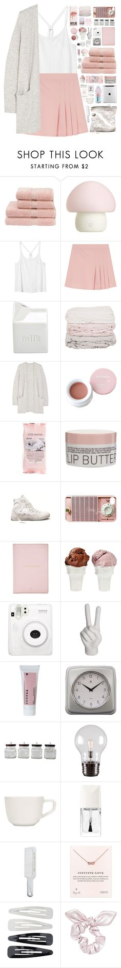 """""""you're not stupid, you're smart! - collab with @amazing-abby"""" by via-m ❤ liked on Polyvore featuring Christy, Emoi, Monki, BIA Cordon Bleu, Disney, Madewell, Korres, Josie Maran, Converse and Samsung"""