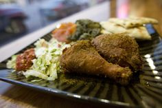 Curry Fried Chicken in Salt Lake City brings curry and fried chicken (and more) together, creating a spicy new adventure for your taste buds. (Kim Raff | The Salt Lake Tribune)