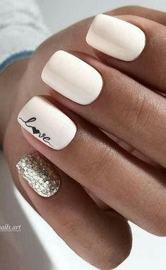 30 ideas which nail polish to choose - My Nails Goth Nails, Pink Nails, Bride Nails, Wedding Nails, Rose Wedding, Best Acrylic Nails, Acrylic Nail Designs, Stylish Nails, Trendy Nails