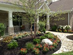 Entrance to one of the 6 beautiful homes in this year's show.