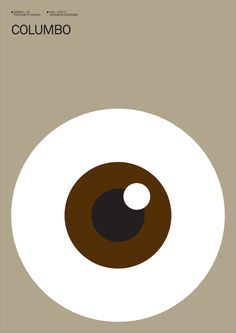 Columbo (1968–2003) ~ Minimal TV Series Poster by Albert Exergian
