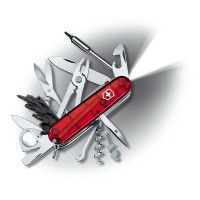 The Short Story about the Legendary Swiss Army Knife  http://www.nyttigbras.dk/journal2/blog/post?journal_blog_post_id=28    The story begins in 1891 with Karl Elsener, owner of a company that made surgical equipment. He founded the Association of Swiss Master Cutlers...