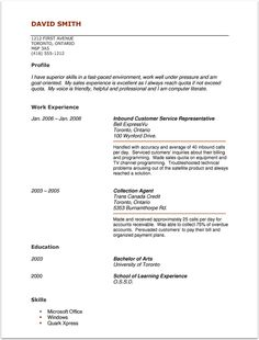 Sample Acting Resume For The Acting RolesExperience Section