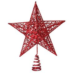 Surker Christmas Star Treetop Decoration -- For more information, visit image link.