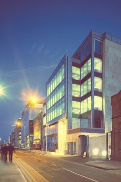 Sir John Rogerson's Quay by HKR Architects, via Behance Exterior, Architects, Multi Story Building, Behance, Arquitetura, Behavior, Building Homes, Outdoors, Architecture