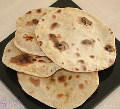Swapna's Cuisine: Homemade Tandoori Roti using a Toaster!