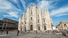 El Duomo de Milán, una de las iglesias más impresionantes de Italia y principal monumento que ver en la ciudad de la moda.