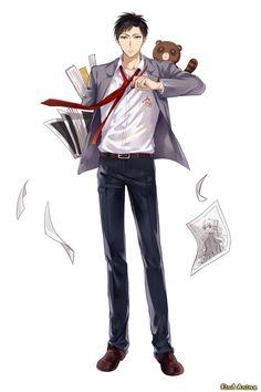 Ежемесячное сёдзё Нозаки-куна (Gekkan Shoujo Nozaki-kun). Tsubaki Izumi