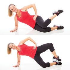 5 Minutes to Tighter Buns and Thighs: Clam Toe Taps www.gymra.com/... #fitness #exercise #weightloss #diet #fitspiration #fitspo #health