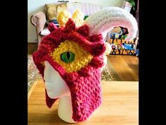 Loom Knit - How to Loom Knit Horns and Spikes - ▶ YouTube video by Scarlett Royal.