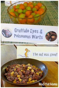Gruffalo Party Food Ideas - Mud Hut Mama