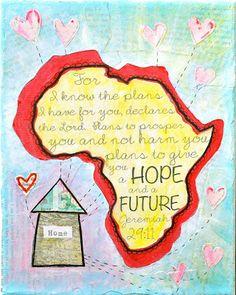 scripture art, nice ministry idea