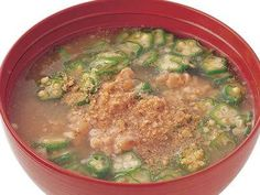 [オクラ納豆汁] 料理レシピ|みんなのきょうの料理