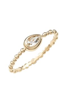 anzie dew drop stacking ring