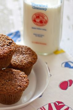 the best ever bran muffins   a cup of mascarpone