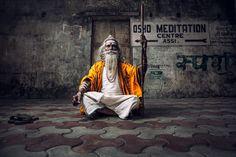 Meditation - Babaji in Varanasi India