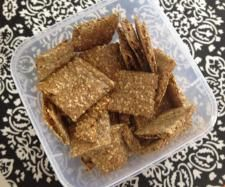 Recipe GF Seeded Crackers by Sue Hansen - Recipe of category Baking - savoury