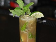 A classic Dominican spirit - mamajuana - gets an urban makeover with light rum, Sprite, and tamarind juice.