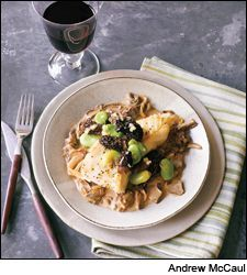 Dining Tip: Seared Halibut With Porcini Sauce | Dining Tips | News & Features | Wine Spectator