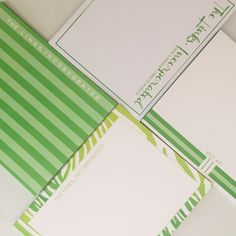 The Links, Incorporated stationery sets by effie's paper.The perfect gifts for induction season or just because gifts! Great for busy bees and working women but also wonderful for stylish mavens and young entrepreneurs!