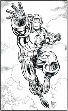 Iron Man by Arthur Adams