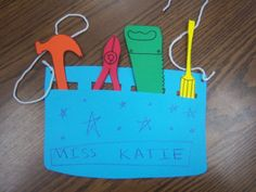 Tools Storytime and tool belt craft