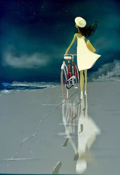 pascal campion: The shortcut by the beach.