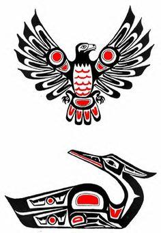 Эскизы рисунков индейцев Хайда 32 фотографии ВКонтакте